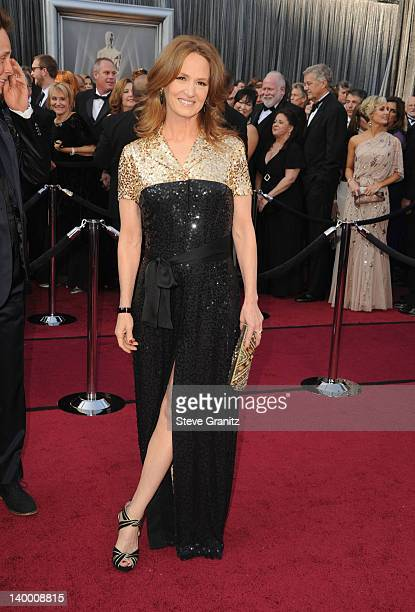 Actress Melissa Leo arrives at the 84th Annual Academy Awards held at the Hollywood Highland Center on February 26 2012 in Hollywood California