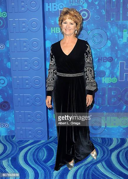 Actress Melissa Leo arrives for the HBO's Post Emmy Awards Reception held at The Plaza at the Pacific Design Center on September 18 2016 in Los...