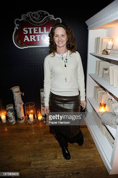Actress Melissa Leo attends Sheets Energy presents BCDF Sundance Cocktail Party at Stella Artois by Ally B during the 2012 Sundance Film Festival on...