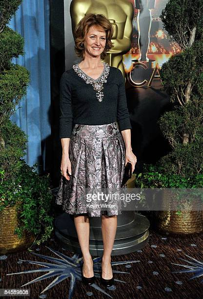 Actress Melissa Leo attends the 2009 Oscar Nominees Luncheon held at the Beverly Hilton Hotel on February 2 2009 in Beverly Hills California