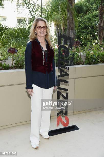 Actress Melissa Leo attends the photo call for Columbia Pictures' 'The Equalizer 2' on July 13 2018 in Los Angeles California