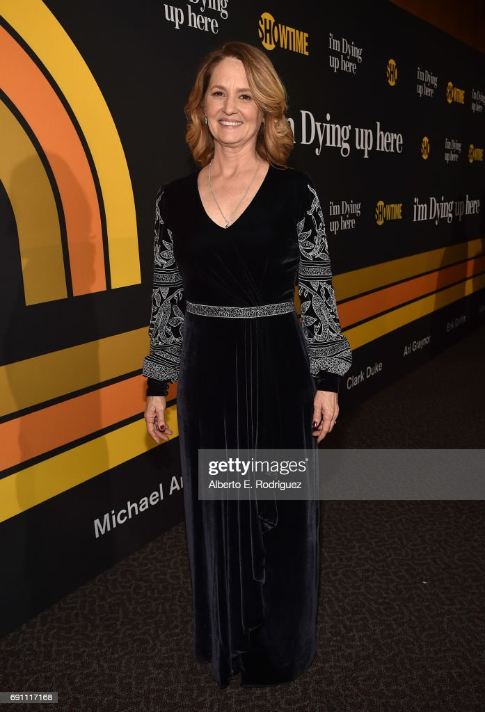 Actress Melissa Leo attends the premiere of Showtime's 'I'm Dying Up Here' at the DGA Theater on May 31, 2017 in Los Angeles, California.