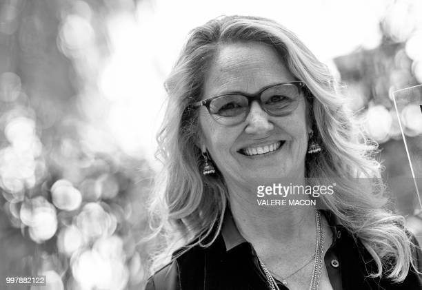 Actress Melissa Leo poses during the 'Equalizer 2' photo call on July 13 in Beverly Hills California