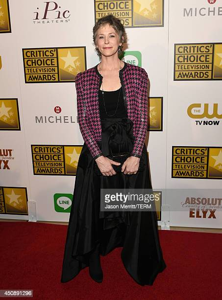 Actress Melissa McBride attends the 4th Annual Critics' Choice Television Awards at The Beverly Hilton Hotel on June 19 2014 in Beverly Hills...