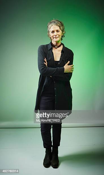 Actress Melissa McBride poses for a portrait at the Getty Images Portrait Studio powered by Samsung Galaxy at ComicCon International 2014 at Hard...