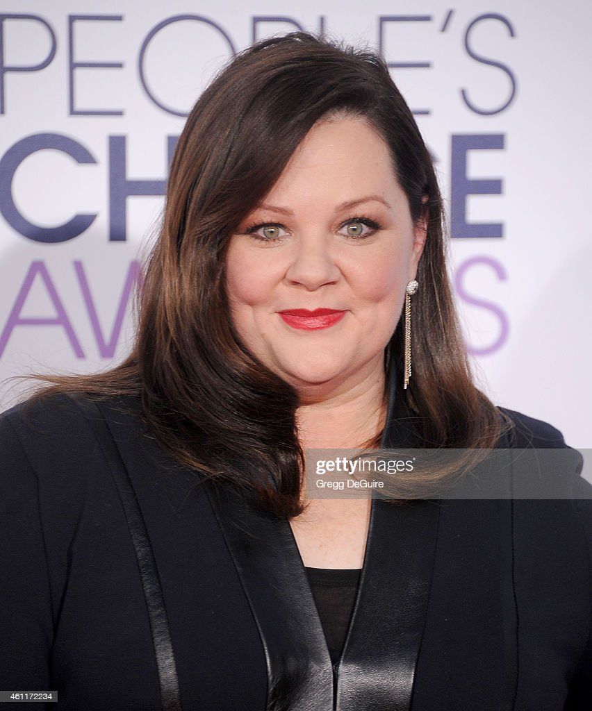 Actress Melissa McCarthy arrives at The 41st Annual People's Choice Awards at Nokia Theatre LA Live on January 7, 2015 in Los Angeles, California.