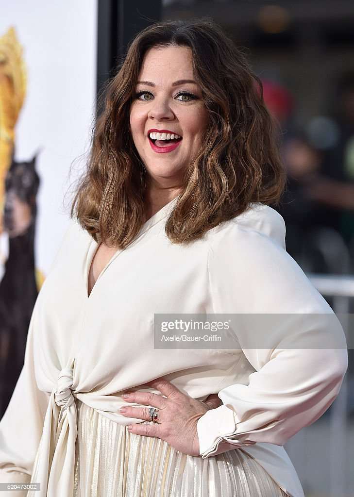 Actress Melissa McCarthy arrives at the premiere of USA Pictures' 'The Boss' at Regency Village Theatre on March 28, 2016 in Westwood, California