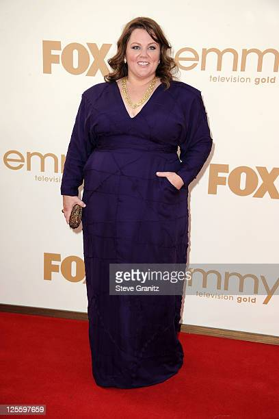Actress Melissa McCarthy arrives to the 63rd Primetime Emmy Awards at the Nokia Theatre LA Live on September 18 2011 in Los Angeles United States