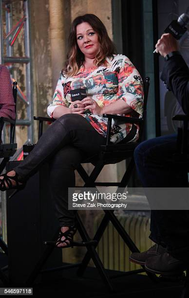 """Actress Melissa McCarthy attends AOL Build Speaker Series: """"Ghostbusters"""" at AOL HQ on July 12, 2016 in New York City."""