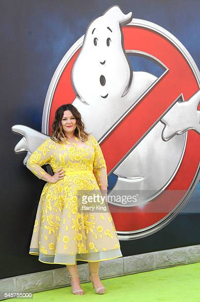 Actress Melissa McCarthy attends the premiere of Sony Pictures' 'Ghostbusters' at TCL Chinese Theatre on July 9, 2016 in Hollywood, California.