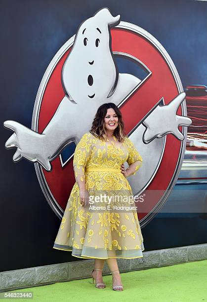Actress Melissa McCarthy attends the Premiere of Sony Pictures' Ghostbusters at TCL Chinese Theatre on July 9 2016 in Hollywood California