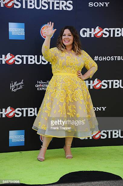 """Actress Melissa McCarthy attends the premiere of Sony Pictures' """"Ghostbusters"""" held at TCL Chinese Theater on July 9, 2016 in Hollywood, California."""