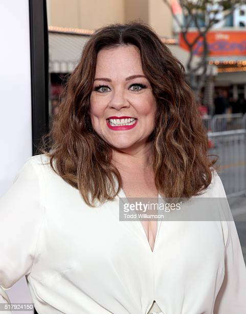 """Actress Melissa McCarthy attends the premiere of USA Pictures' """"The Boss"""" at Regency Village Theatre on March 28, 2016 in Westwood, California."""