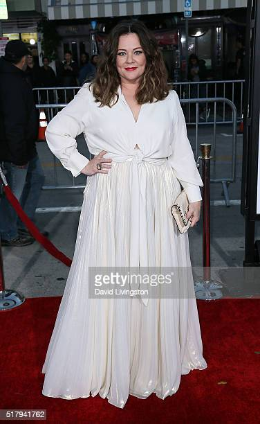 Actress Melissa McCarthy attends the premiere of USA Pictures' 'The Boss' at the Regency Village Theatre on March 28 2016 in Westwood California