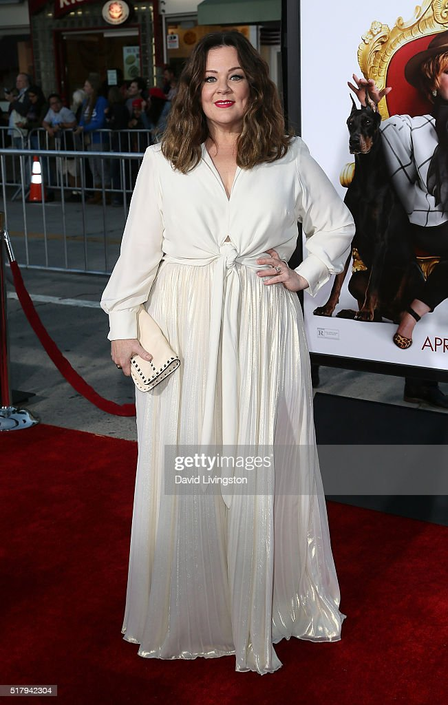 Actress Melissa McCarthy attends the premiere of USA Pictures' 'The Boss' at the Regency Village Theatre on March 28, 2016 in Westwood, California.