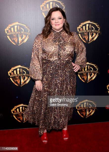 Actress Melissa McCarthy attends Warner Bros Pictures The Big Picture exclusive presentation during CinemaCon at The Colosseum at Caesars Palace on...