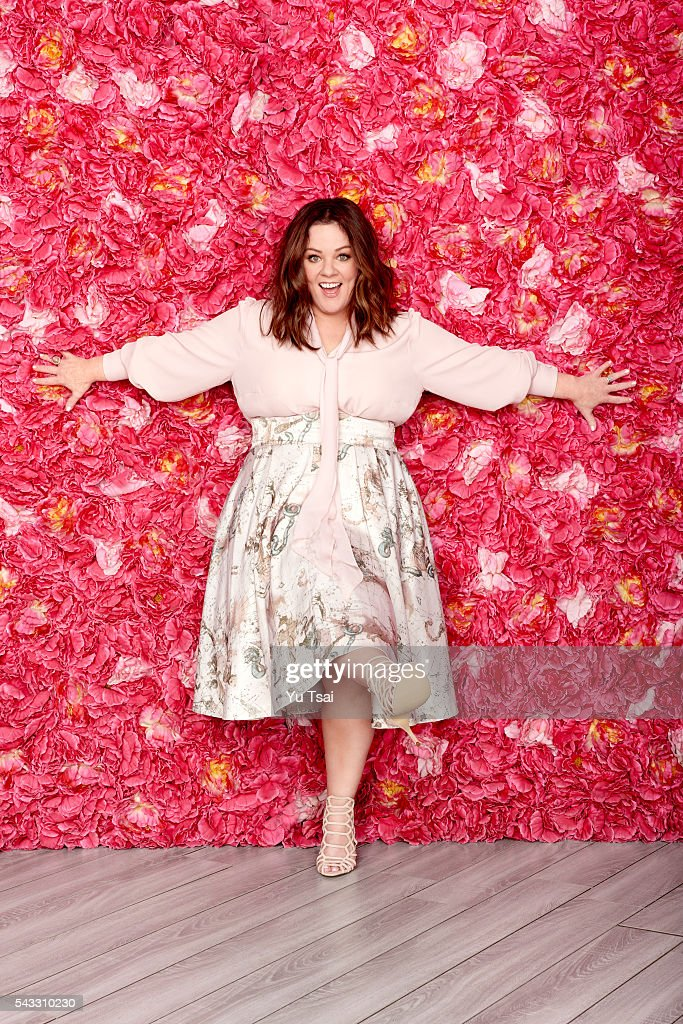 Actress Melissa McCarthy is photographed for Redbook Magazine on February 1, 2016 in Los Angeles, California. PUBLISHED