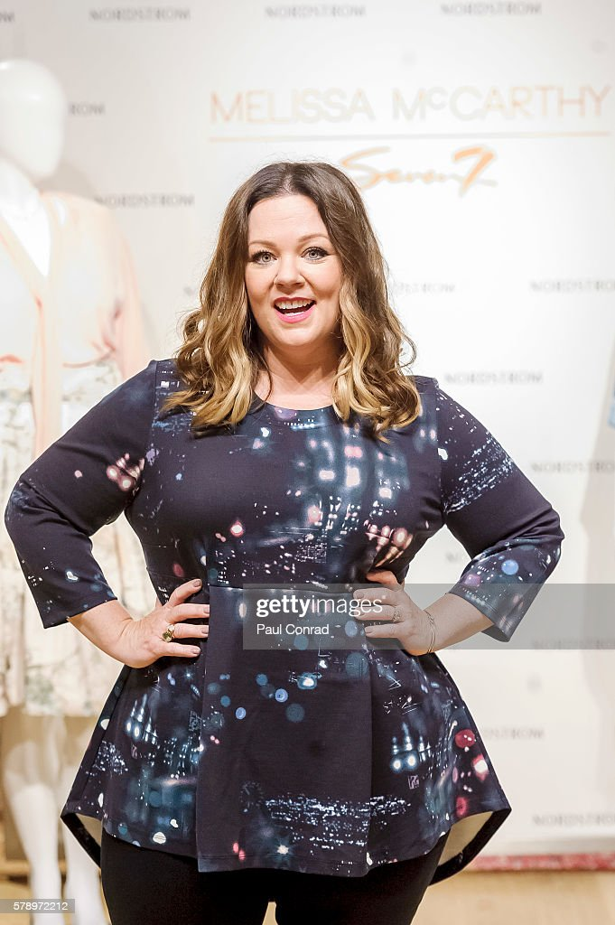 Melissa McCarthy Visits Nordstrom Downtown Seattle To Promote Her fashion Line Melissa McCarthy Seven7