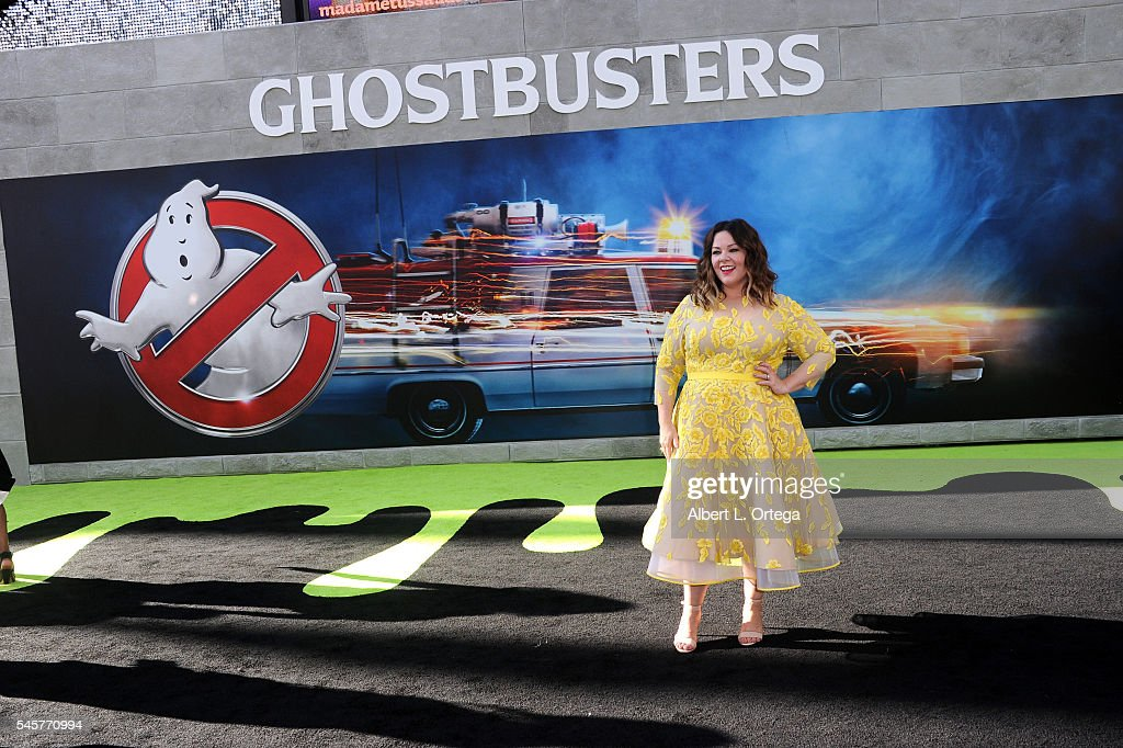 Actress Melissa McCathy arrives for the Premiere Of Sony Pictures' 'Ghostbusters' held at TCL Chinese Theatre on July 9, 2016 in Hollywood, California.