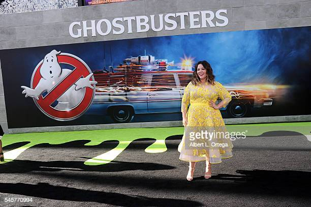 """Actress Melissa McCathy arrives for the Premiere Of Sony Pictures' """"Ghostbusters"""" held at TCL Chinese Theatre on July 9, 2016 in Hollywood,..."""