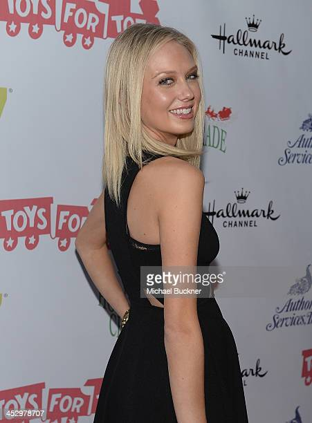 Actress Melissa Ordway arrives at the 82nd Annual Hollywood Christmas Parade on Hollywood Blvd on December 1 2013 in Hollywood California