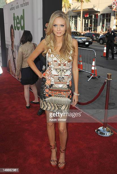 Actress Melissa Ordway arrives at the Premiere of Universal Pictures' 'Ted' sponsored in part by AXE Hair at Grauman's Chinese Theatre on June 21...