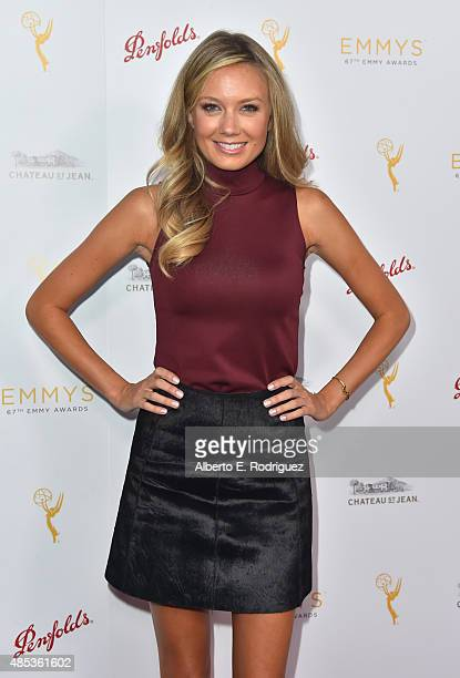 Actress Melissa Ordway attends a cocktail reception hosted by the Academy of Television Arts Sciences celebrating the Daytime Peer Group at Montage...
