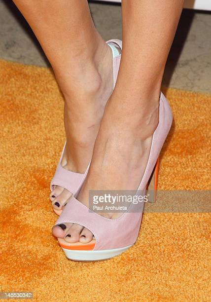Actress Melissa Ordway attends the Daybreak Los Angeles premiere at the Sunset Tower on May 31 2012 in West Hollywood California