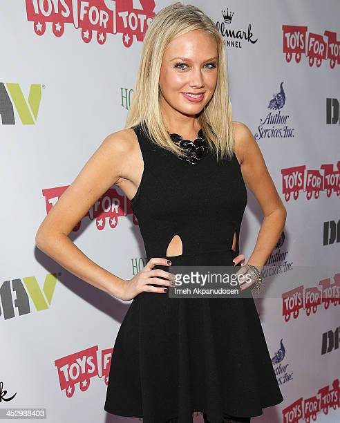 Actress Melissa Ordway attends The Hollywood Christmas Parade Benefiting Toys For Tots Foundation on December 1 2013 in Hollywood California