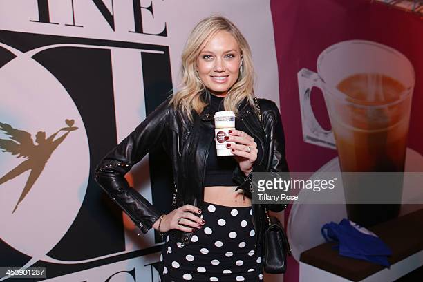 Actress Melissa Ordway attends the Nescafe Dolce Gusto Lounge at Divine Design on December 5 2013 in Beverly Hills California
