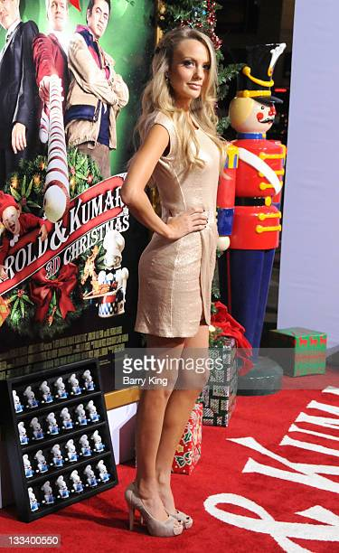 Actress Melissa Ordway attends the premiere of 'A Very Harold Kumar 3D Christmas' at Grauman's Chinese Theatre on November 2 2011 in Hollywood...