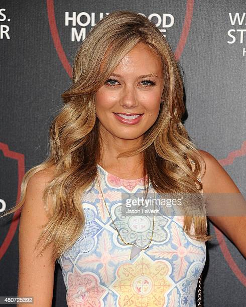 Actress Melissa Ordway attends the unveiling of Warner Bros Studio expansion at Warner Bros Studios on July 14 2015 in Burbank California