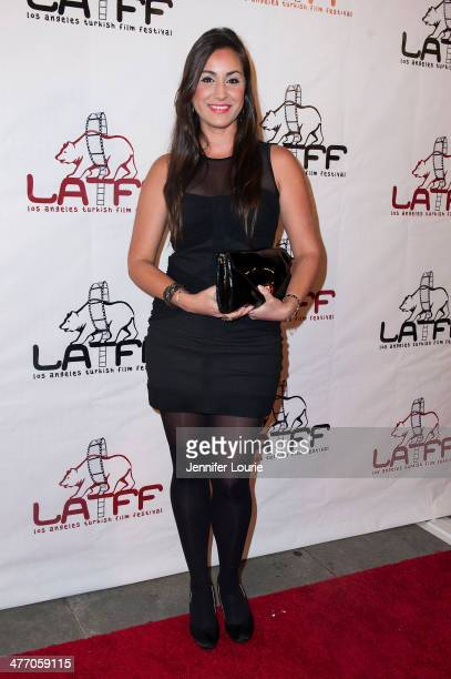 Actress Melissa Papel attends the 3rd Annual LA Turkish Film Festival's opening night gala for 'Yozgat Blues' at the Egyptian Theatre on March 6 2014...