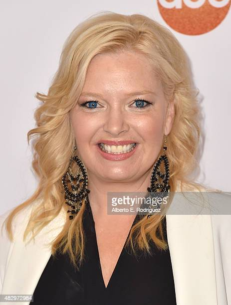 Actress Melissa Peterman attends Disney ABC Television Group's 2015 TCA Summer Press Tour at the Beverly Hilton Hotel on August 4 2015 in Beverly...