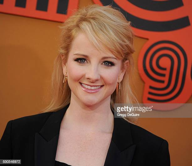 Actress Melissa Rauch arrives at the premiere of Warner Bros Pictures' 'The Nice Guys' at TCL Chinese Theatre on May 10 2016 in Hollywood California