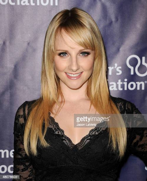 Actress Melissa Rauch attends the 22nd 'A Night At Sardi's' at The Beverly Hilton Hotel on March 26 2014 in Beverly Hills California