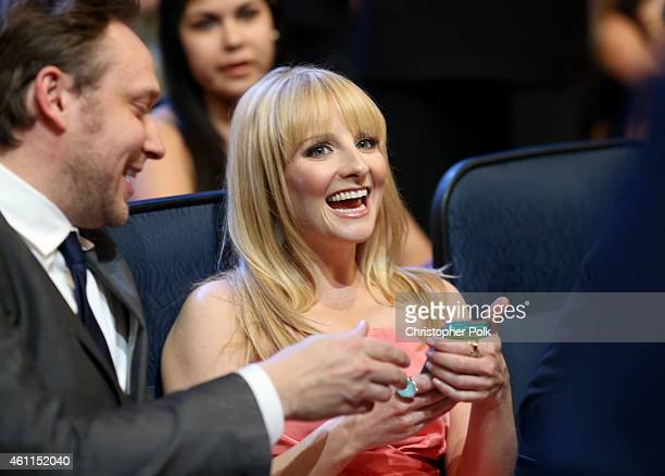 Actress Melissa Rauch attends The 41st Annual People's Choice Awards at Nokia Theatre LA Live on January 7 2015 in Los Angeles California