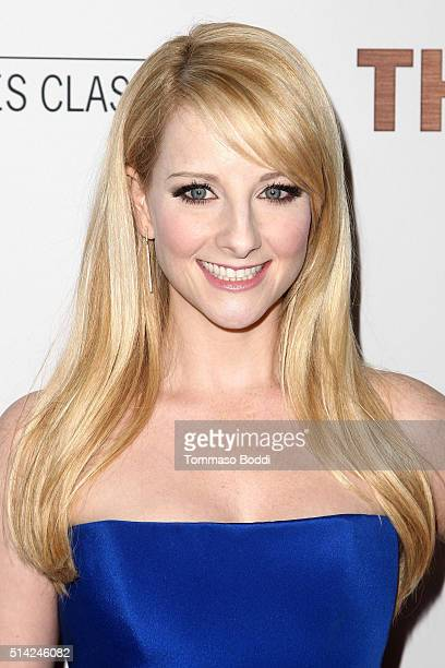 Actress Melissa Rauch attends the premiere of Sony Pictures Classics' 'The Bronze' held at SilverScreen Theater at the Pacific Design Center on March...
