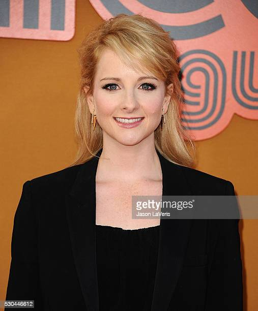 Actress Melissa Rauch attends the premiere of The Nice Guys at TCL Chinese Theatre on May 10 2016 in Hollywood California