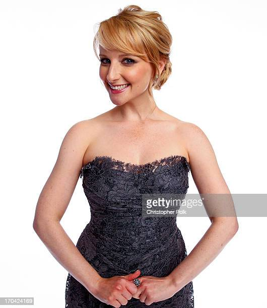 Actress Melissa Rauch poses for a portrait at the Broadcast Television Journalists Association's Third Annual Critics' Choice Television Awards on...