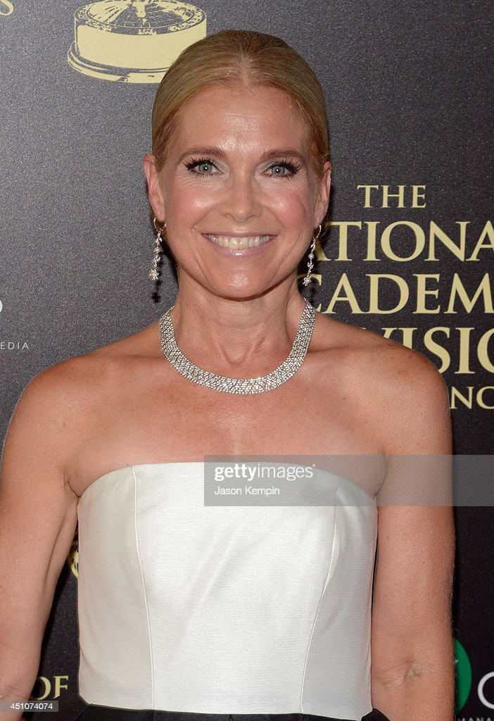 Actress Melissa Reeves attends The 41st Annual Daytime Emmy Awards at The Beverly Hilton Hotel on June 22, 2014 in Beverly Hills, California.