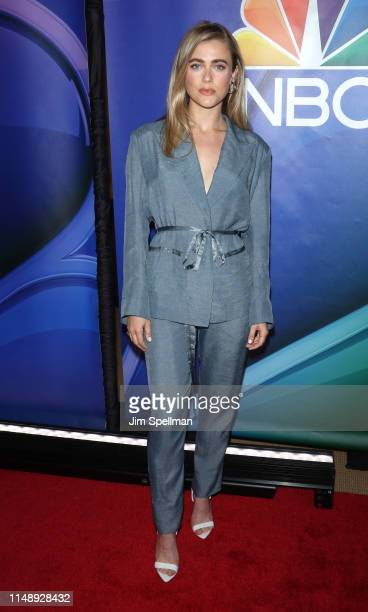 Actress Melissa Roxburgh attends the NBC 2019/20 Upfront at Four Seasons Hotel New York on May 13 2019 in New York City