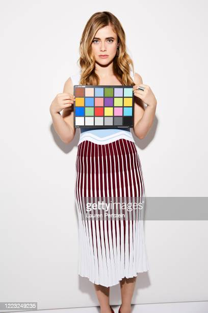 Actress Melissa Roxburgh is photographed for EliteDaily.com on February 7, 2019 in New York City. PUBLISHED IMAGE.