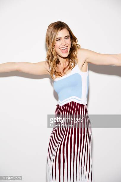 Actress Melissa Roxburgh is photographed for EliteDailycom on February 7 2019 in New York City PUBLISHED IMAGE