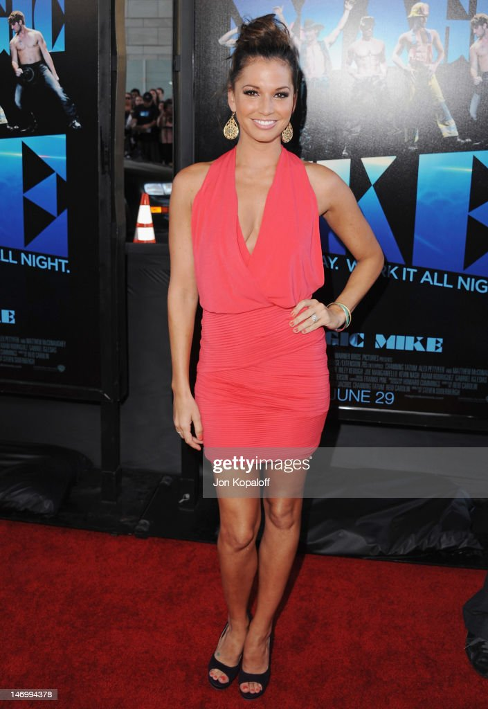 Actress Melissa Rycroft arrives at the 'Magic Mike' Closing Night Premiere at the 2012 Los Angeles Film Festival at Regal Cinemas L.A. Live on June 24, 2012 in Los Angeles, California.