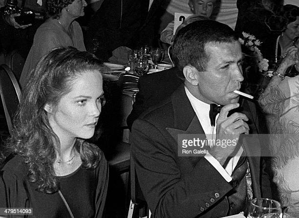 Actress Melissa Sue Anderson and Frank Sinatra Jr attend the 53rd Annual Variety Clubs International Convention Closing Night Variety Clubs...
