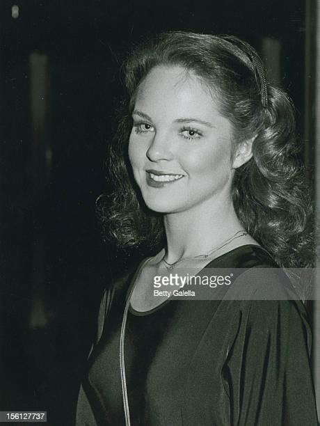 Actress Melissa Sue Anderson attending 'Variety International Humanitarian Awards Honoring Frank Sinatra' on April 24 1980 at the Century City...
