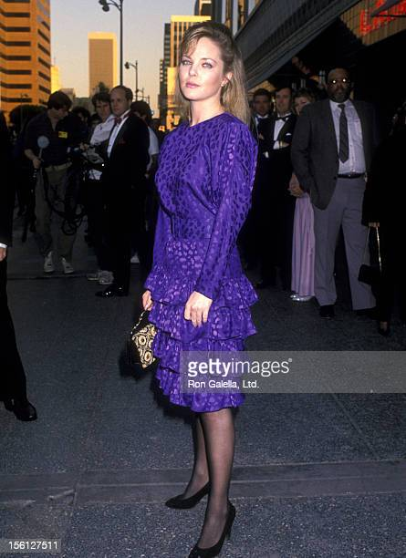 Actress Melissa Sue Anderson attends the 10th Annual National CableACE Awards on January 15 1989 at Wiltern Theatre in Los Angeles California
