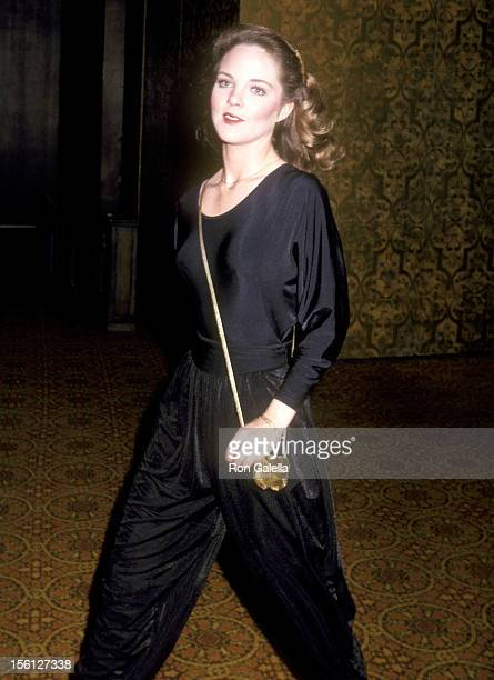 Actress Melissa Sue Anderson attends the Variety International's Humanitarian Award Honoring Frank Sinatra on April 24 1980 at Century Plaza Hotel in...
