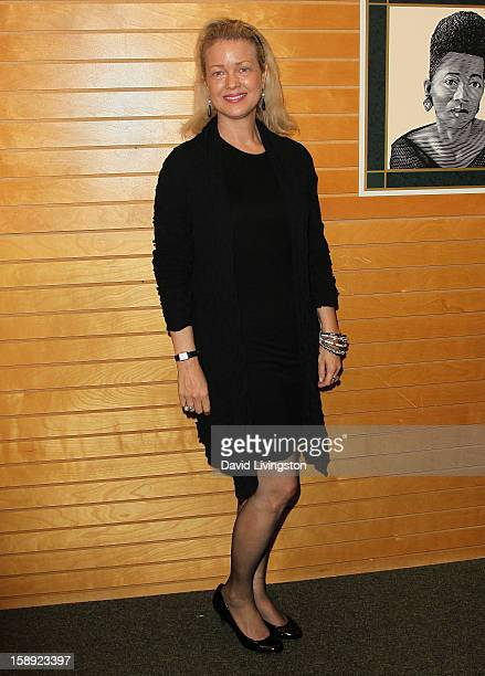 Actress Melody Anderson attends a signing of Christopher Kennedy Lawford's book Recover to Live Kick Any Habit Manage Any Addiction at Barnes Noble...